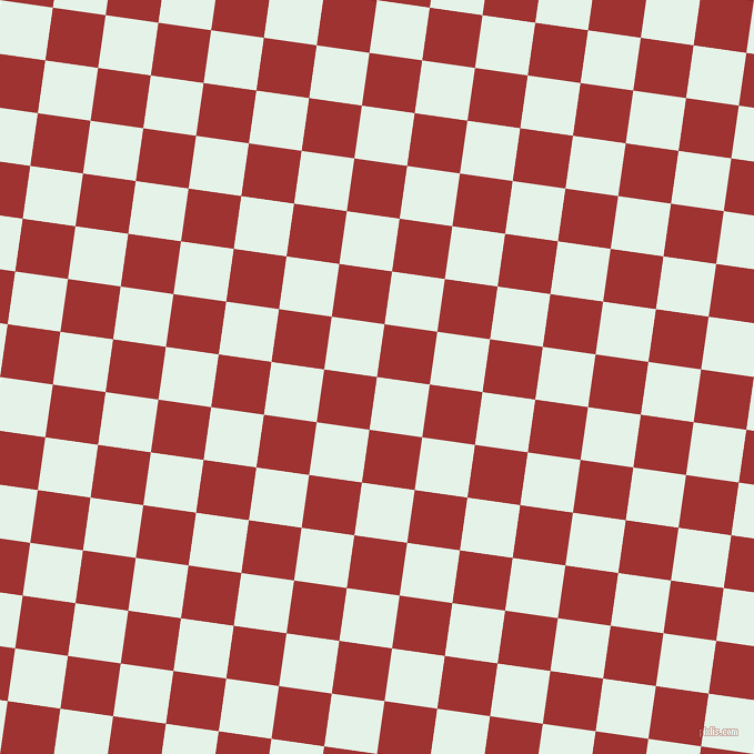 82/172 degree angle diagonal checkered chequered squares checker pattern checkers background, 48 pixel squares size, , Polar and Milano Red checkers chequered checkered squares seamless tileable
