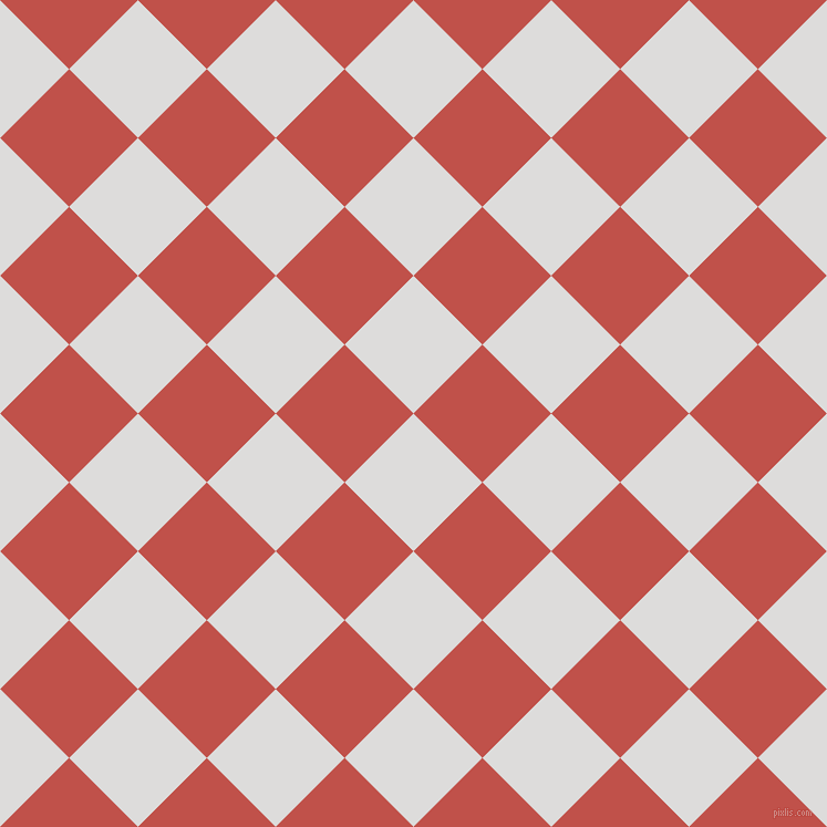 45/135 degree angle diagonal checkered chequered squares checker pattern checkers background, 88 pixel squares size, , Porcelain and Sunset checkers chequered checkered squares seamless tileable