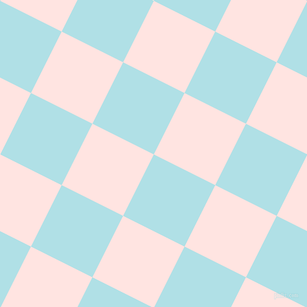63/153 degree angle diagonal checkered chequered squares checker pattern checkers background, 100 pixel square size, , Powder Blue and Misty Rose checkers chequered checkered squares seamless tileable