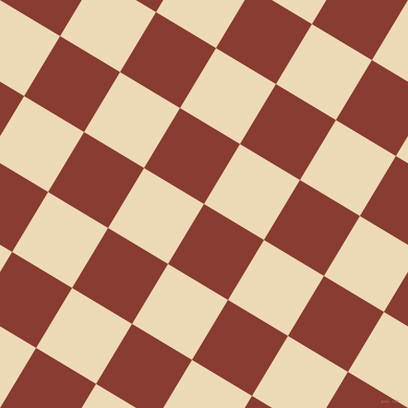 59/149 degree angle diagonal checkered chequered squares checker pattern checkers background, 139 pixel squares size, , Prairie Sand and Champagne checkers chequered checkered squares seamless tileable