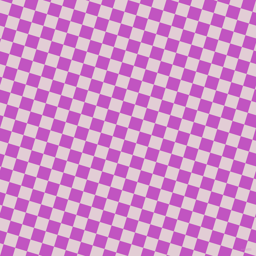 73/163 degree angle diagonal checkered chequered squares checker pattern checkers background, 42 pixel square size, , Prim and Fuchsia checkers chequered checkered squares seamless tileable