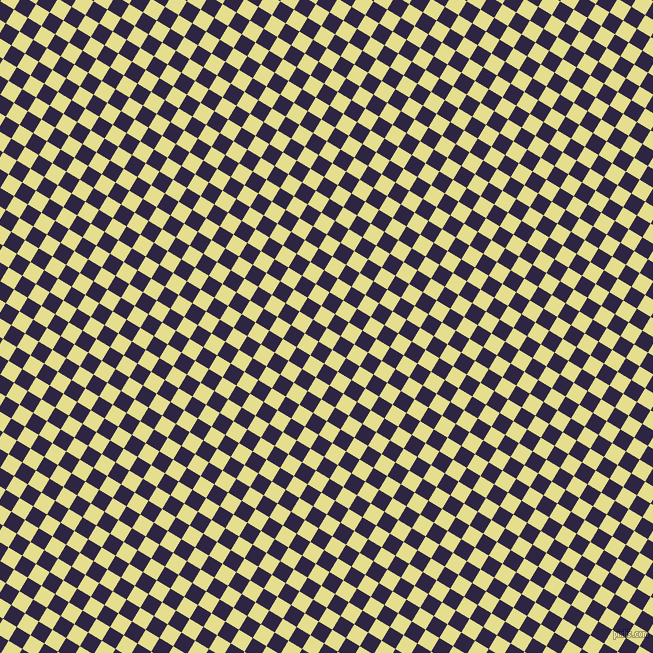 59/149 degree angle diagonal checkered chequered squares checker pattern checkers background, 16 pixel squares size, , Primrose and Tolopea checkers chequered checkered squares seamless tileable