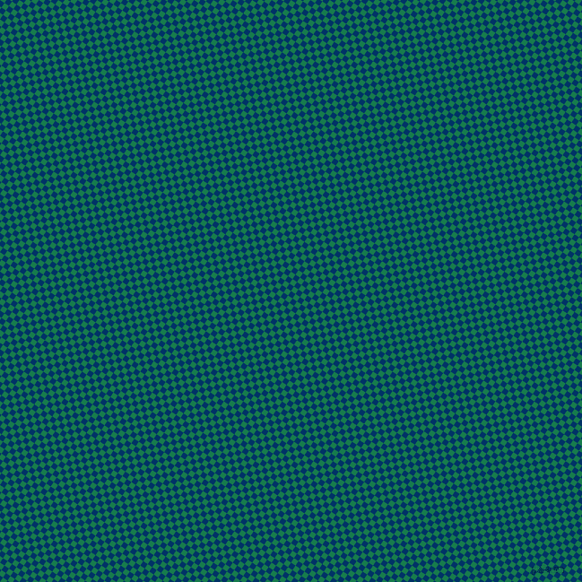 56/146 degree angle diagonal checkered chequered squares checker pattern checkers background, 6 pixel squares size, , Prussian Blue and Salem checkers chequered checkered squares seamless tileable