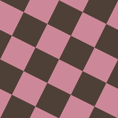 63/153 degree angle diagonal checkered chequered squares checker pattern checkers background, 102 pixel square size, , Puce and Paco checkers chequered checkered squares seamless tileable
