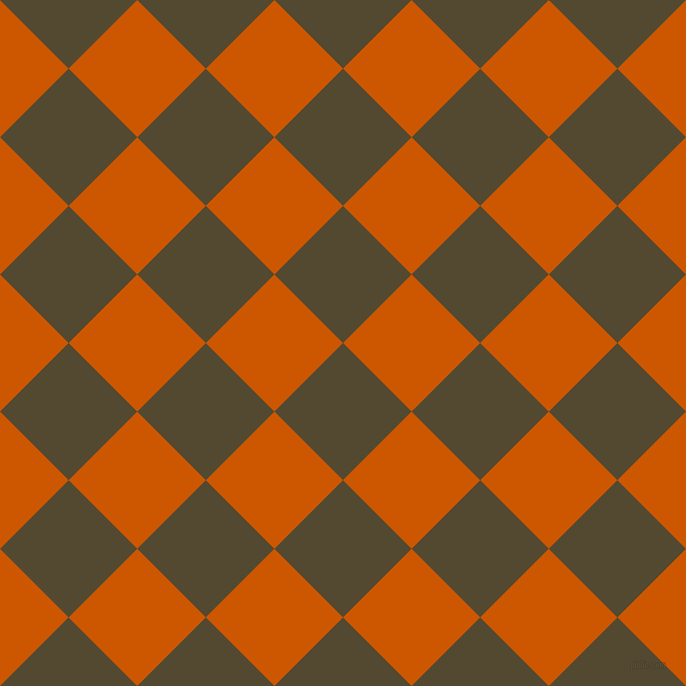 45/135 degree angle diagonal checkered chequered squares checker pattern checkers background, 97 pixel square size, , Punga and Tenne Tawny checkers chequered checkered squares seamless tileable