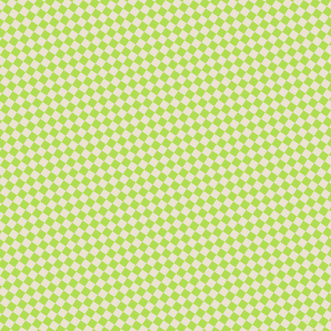 56/146 degree angle diagonal checkered chequered squares checker pattern checkers background, 15 pixel square size, , Quarter Spanish White and Conifer checkers chequered checkered squares seamless tileable