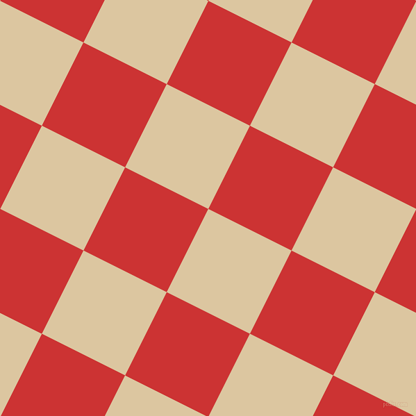 63/153 degree angle diagonal checkered chequered squares checker pattern checkers background, 134 pixel square size, , Raffia and Persian Red checkers chequered checkered squares seamless tileable