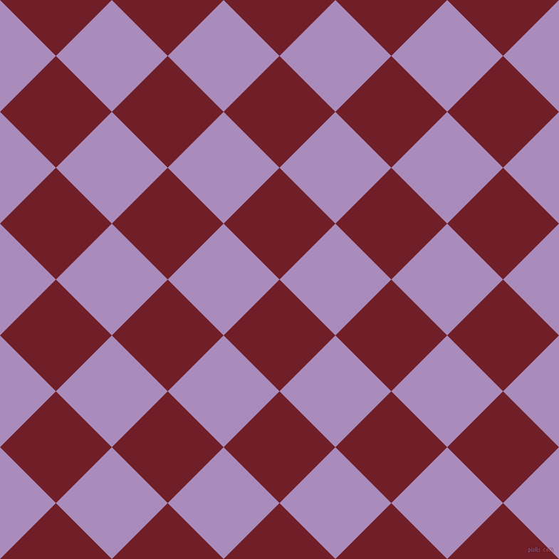 45/135 degree angle diagonal checkered chequered squares checker pattern checkers background, 111 pixel squares size, , Red Berry and East Side checkers chequered checkered squares seamless tileable