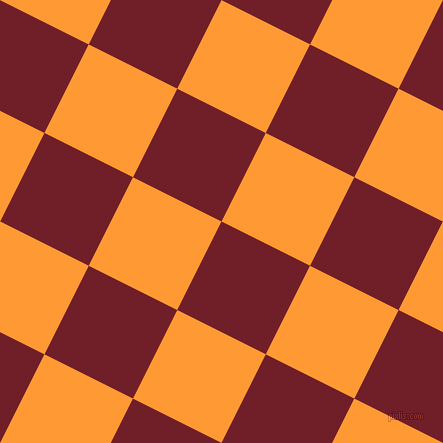 63/153 degree angle diagonal checkered chequered squares checker pattern checkers background, 99 pixel squares size, , Red Berry and Neon Carrot checkers chequered checkered squares seamless tileable