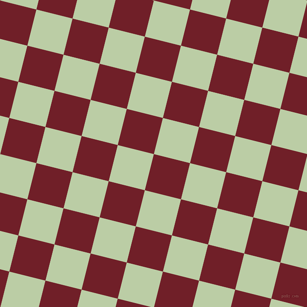 76/166 degree angle diagonal checkered chequered squares checker pattern checkers background, 75 pixel squares size, , Red Berry and Pixie Green checkers chequered checkered squares seamless tileable