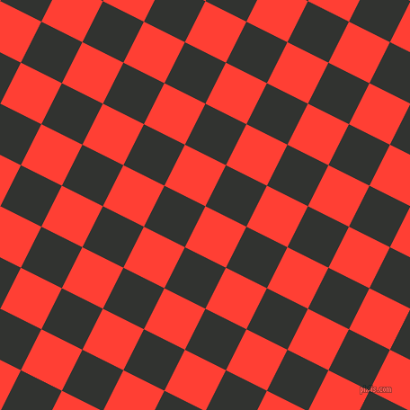 63/153 degree angle diagonal checkered chequered squares checker pattern checkers background, 51 pixel squares size, , Red Orange and Oil checkers chequered checkered squares seamless tileable