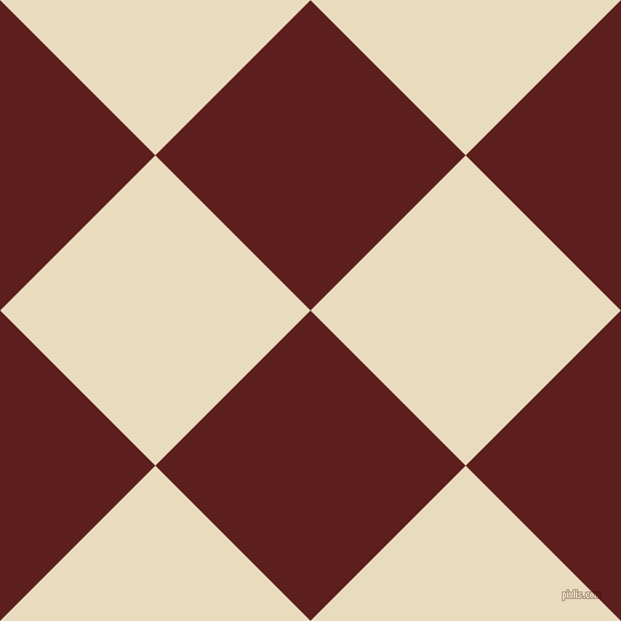45/135 degree angle diagonal checkered chequered squares checker pattern checkers background, 200 pixel squares size, , Red Oxide and Double Pearl Lusta checkers chequered checkered squares seamless tileable