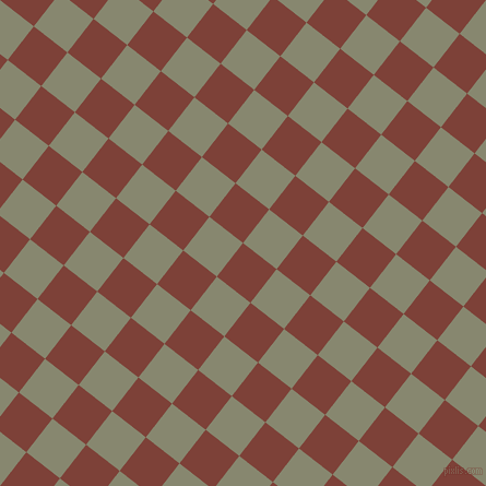 52/142 degree angle diagonal checkered chequered squares checker pattern checkers background, 39 pixel squares size, , Red Robin and Schist checkers chequered checkered squares seamless tileable