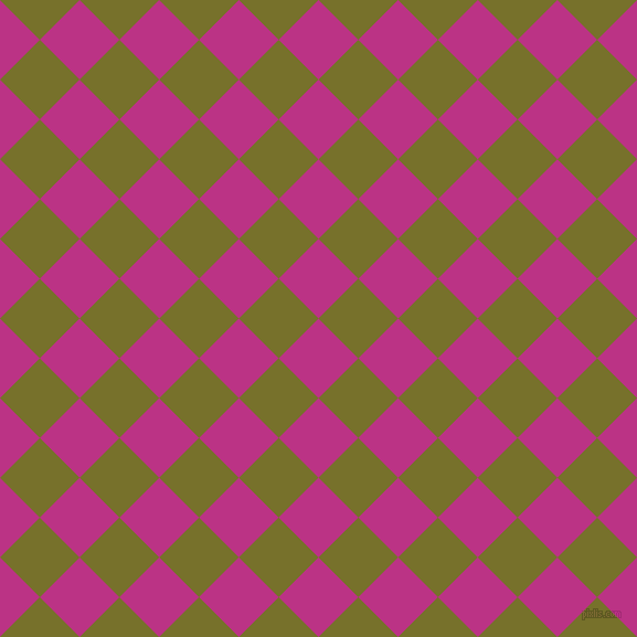 45/135 degree angle diagonal checkered chequered squares checker pattern checkers background, 51 pixel squares size, , Red Violet and Crete checkers chequered checkered squares seamless tileable