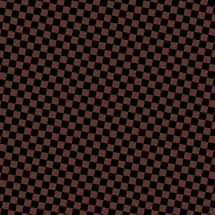 79/169 degree angle diagonal checkered chequered squares checker pattern checkers background, 29 pixel squares size, , Redwood and Black checkers chequered checkered squares seamless tileable