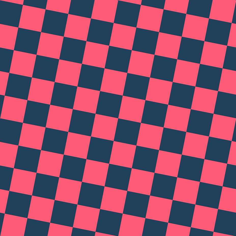 79/169 degree angle diagonal checkered chequered squares checker pattern checkers background, 91 pixel squares size, , Regal Blue and Wild Watermelon checkers chequered checkered squares seamless tileable