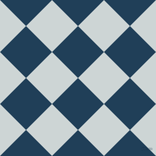 45/135 degree angle diagonal checkered chequered squares checker pattern checkers background, 122 pixel square size, , Regal Blue and Zumthor checkers chequered checkered squares seamless tileable