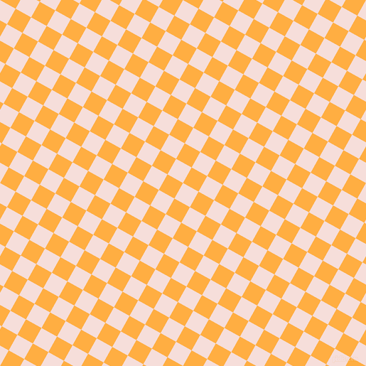 61/151 degree angle diagonal checkered chequered squares checker pattern checkers background, 25 pixel square size, , Remy and Yellow Orange checkers chequered checkered squares seamless tileable