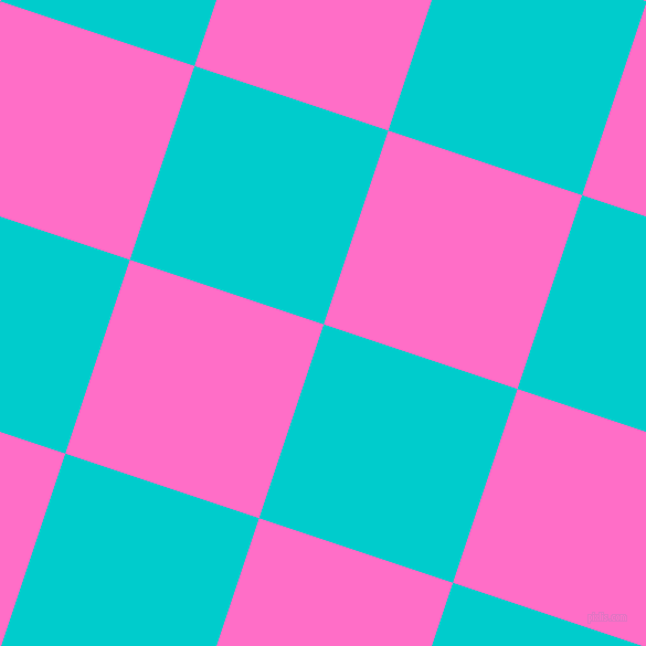 Robin's Egg Blue and Neon Pink checkers chequered ...
