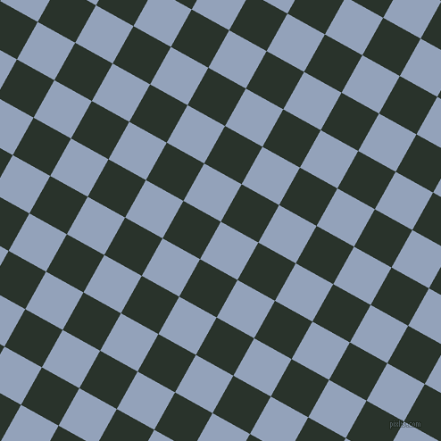 61/151 degree angle diagonal checkered chequered squares checker pattern checkers background, 48 pixel squares size, , Rock Blue and Gordons Green checkers chequered checkered squares seamless tileable