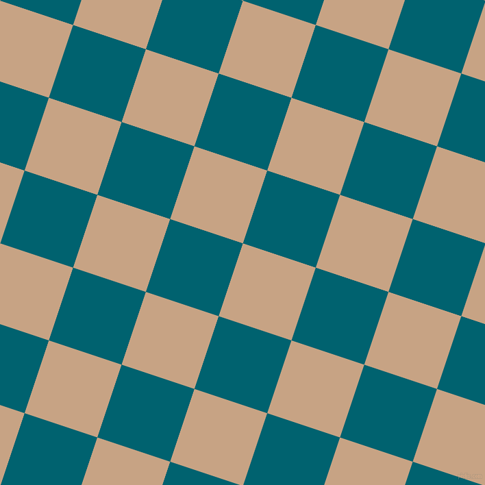 72/162 degree angle diagonal checkered chequered squares checker pattern checkers background, 112 pixel square size, , Rodeo Dust and Blue Lagoon checkers chequered checkered squares seamless tileable