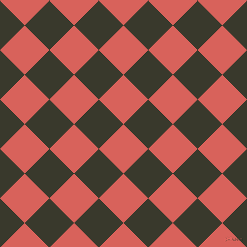 45/135 degree angle diagonal checkered chequered squares checker pattern checkers background, 71 pixel square size, , Roman and El Paso checkers chequered checkered squares seamless tileable