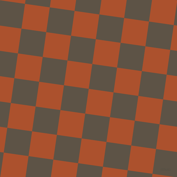 82/172 degree angle diagonal checkered chequered squares checker pattern checkers background, 88 pixel square size, , Rose Of Sharon and Judge Grey checkers chequered checkered squares seamless tileable