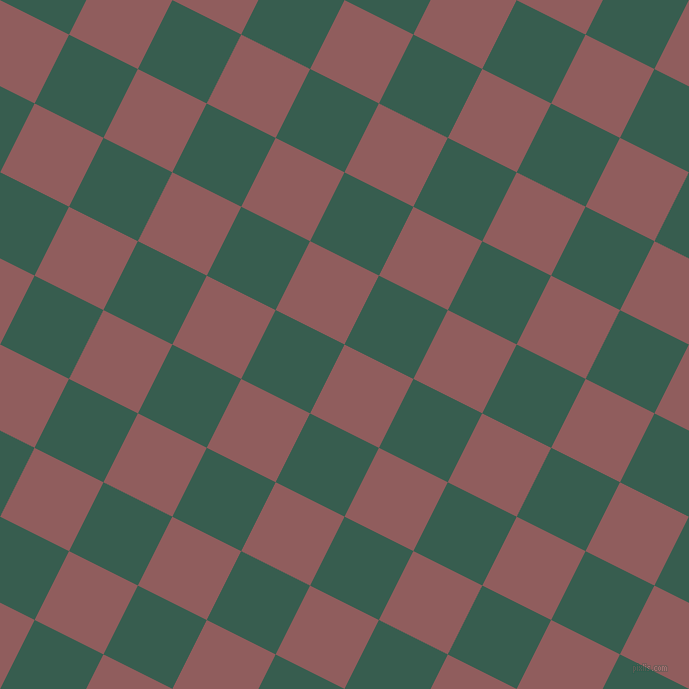63/153 degree angle diagonal checkered chequered squares checker pattern checkers background, 77 pixel squares size, , Rose Taupe and Spectra checkers chequered checkered squares seamless tileable
