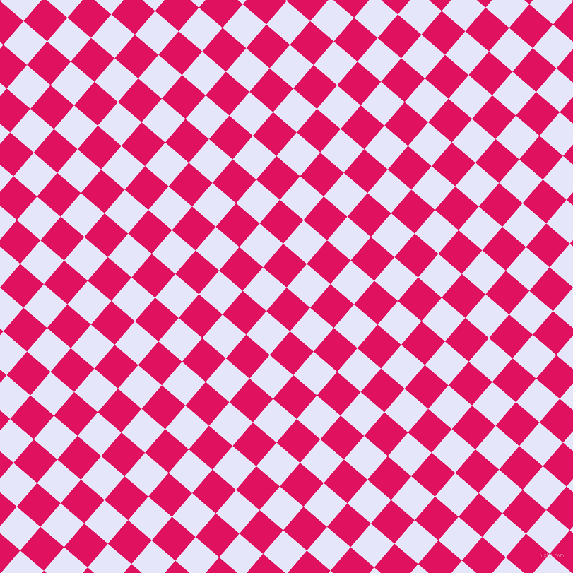 49/139 degree angle diagonal checkered chequered squares checker pattern checkers background, 44 pixel square size, , Ruby and Lavender checkers chequered checkered squares seamless tileable