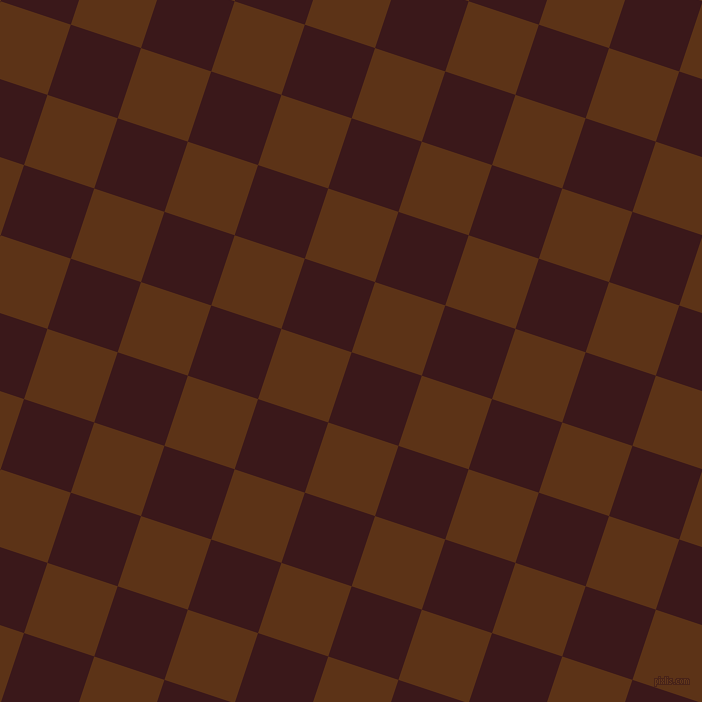 72/162 degree angle diagonal checkered chequered squares checker pattern checkers background, 74 pixel squares size, , Rustic Red and Baker