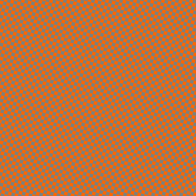 76/166 degree angle diagonal checkered chequered squares checker pattern checkers background, 7 pixel squares size, , Safety Orange and Boulder checkers chequered checkered squares seamless tileable