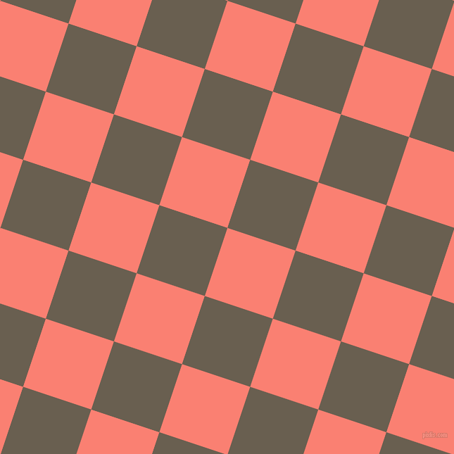 72/162 degree angle diagonal checkered chequered squares checker pattern checkers background, 102 pixel square size, Salmon and Makara checkers chequered checkered squares seamless tileable