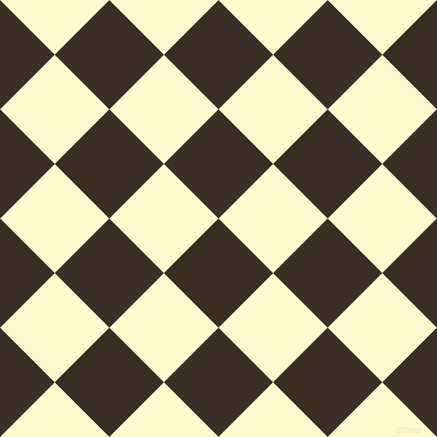 45/135 degree angle diagonal checkered chequered squares checker pattern checkers background, 109 pixel squares size, , Sambuca and Lemon Chiffon checkers chequered checkered squares seamless tileable