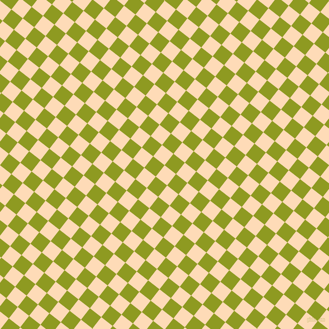 52/142 degree angle diagonal checkered chequered squares checker pattern checkers background, 29 pixel squares size, , Sandy Beach and Citron checkers chequered checkered squares seamless tileable