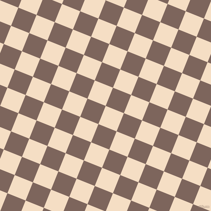 68/158 degree angle diagonal checkered chequered squares checker pattern checkers background, 64 pixel square size, , Sazerac and Russett checkers chequered checkered squares seamless tileable