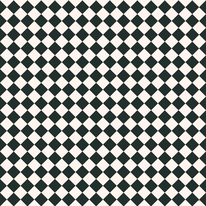 Seashell and Racing Green checkers chequered checkered