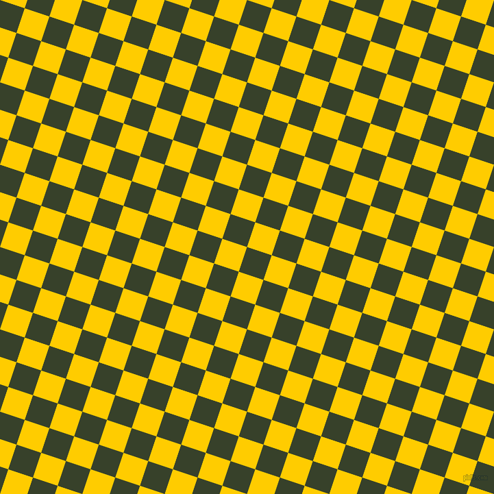 72/162 degree angle diagonal checkered chequered squares checker pattern checkers background, 38 pixel squares size, , Seaweed and Tangerine Yellow checkers chequered checkered squares seamless tileable