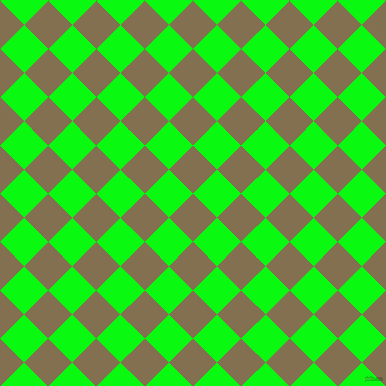 45/135 degree angle diagonal checkered chequered squares checker pattern checkers background, 68 pixel squares size, , Shadow and Free Speech Green checkers chequered checkered squares seamless tileable
