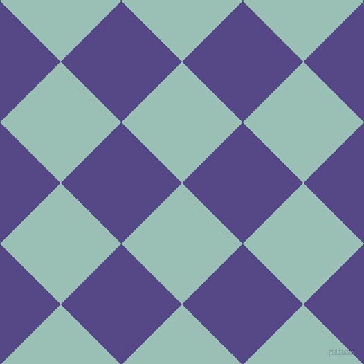 45/135 degree angle diagonal checkered chequered squares checker pattern checkers background, 124 pixel squares size, , Shadow Green and Gigas checkers chequered checkered squares seamless tileable