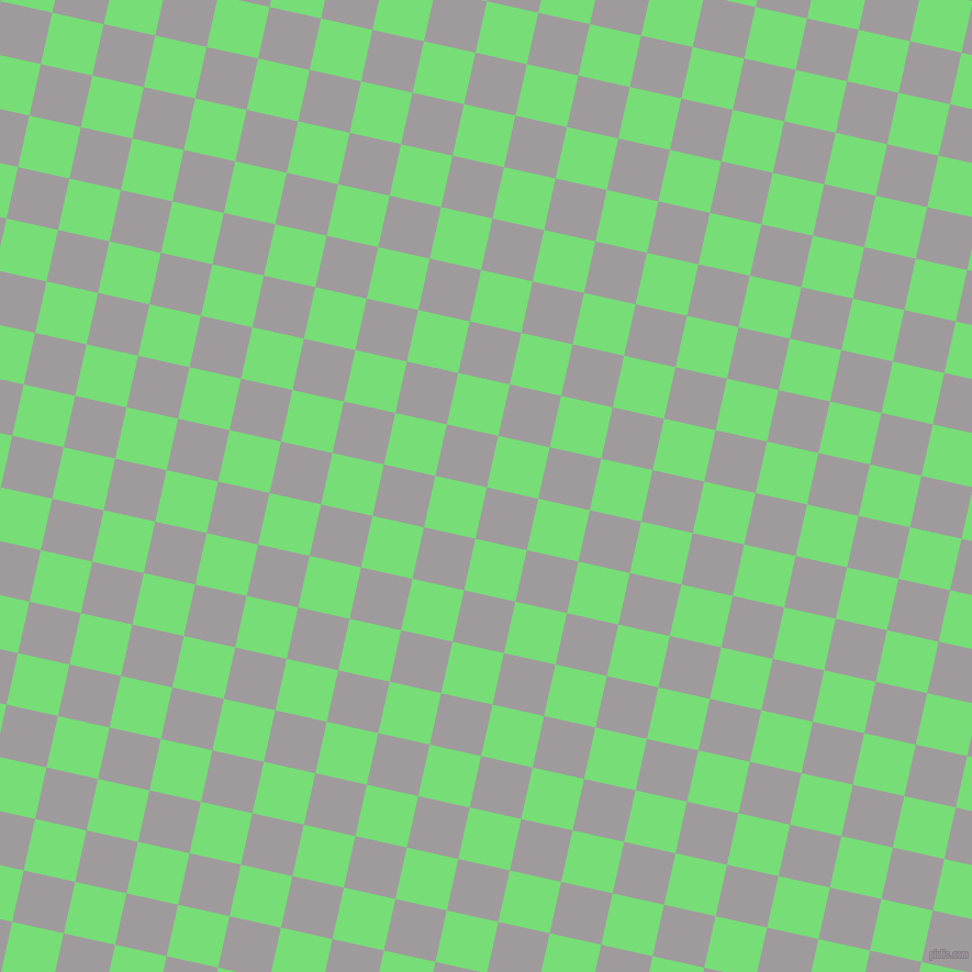 77/167 degree angle diagonal checkered chequered squares checker pattern checkers background, 48 pixel squares size, , Shady Lady and Pastel Green checkers chequered checkered squares seamless tileable