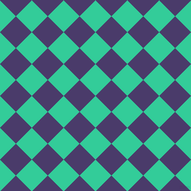 45/135 degree angle diagonal checkered chequered squares checker pattern checkers background, 79 pixel squares size, , Shamrock and Meteorite checkers chequered checkered squares seamless tileable