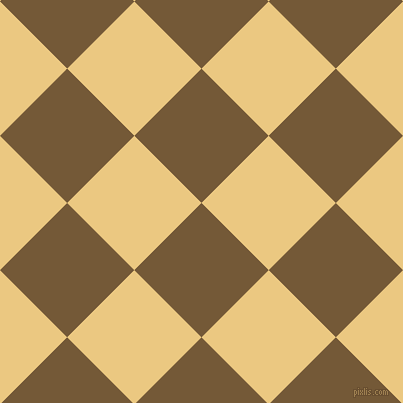 45/135 degree angle diagonal checkered chequered squares checker pattern checkers background, 95 pixel square size, , Shingle Fawn and Marzipan checkers chequered checkered squares seamless tileable