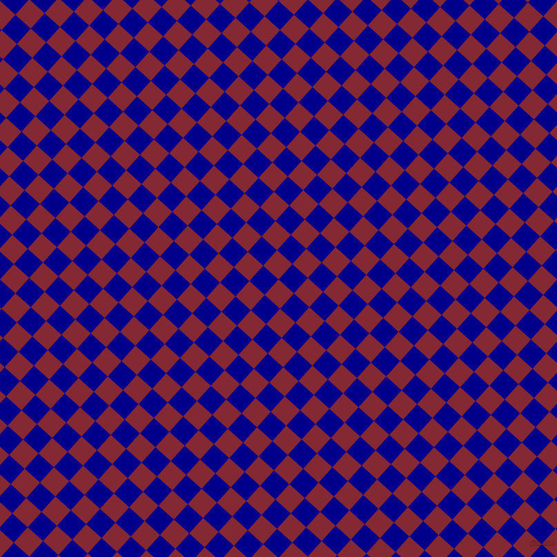 48/138 degree angle diagonal checkered chequered squares checker pattern checkers background, 30 pixel square size, , Shiraz and Dark Blue checkers chequered checkered squares seamless tileable