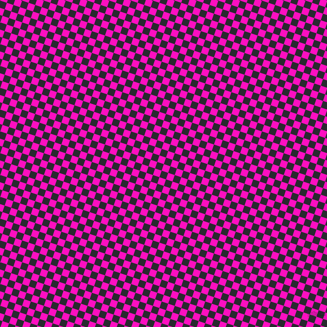 72/162 degree angle diagonal checkered chequered squares checker pattern checkers background, 14 pixel square size, , Shocking Pink and Jaguar checkers chequered checkered squares seamless tileable