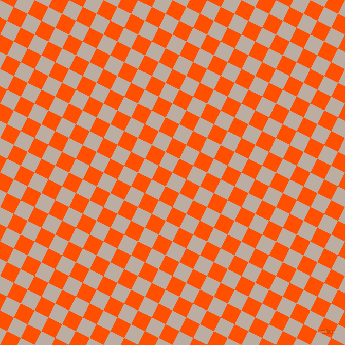 63/153 degree angle diagonal checkered chequered squares checker pattern checkers background, 30 pixel squares size, , Silk and International Orange checkers chequered checkered squares seamless tileable