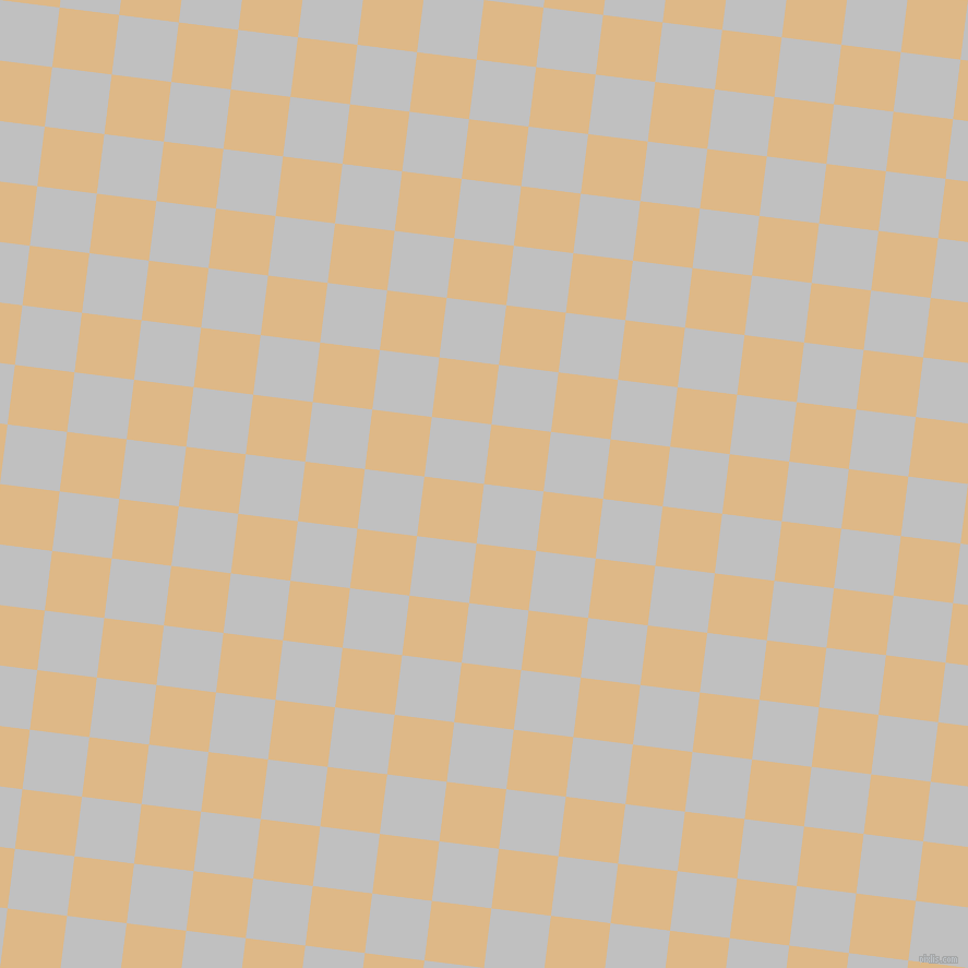 83/173 degree angle diagonal checkered chequered squares checker pattern checkers background, 55 pixel square size, , Silver and Burly Wood checkers chequered checkered squares seamless tileable