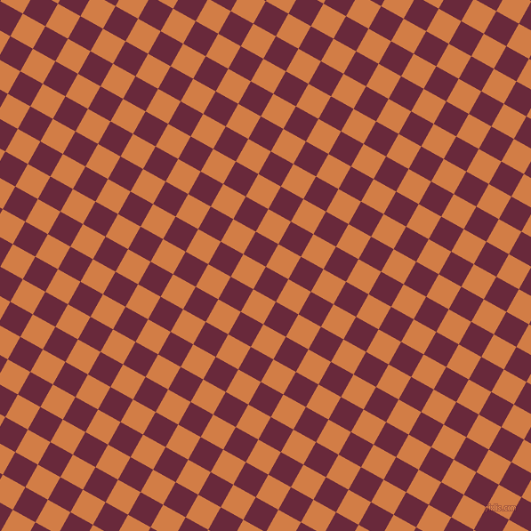 61/151 degree angle diagonal checkered chequered squares checker pattern checkers background, 29 pixel square size, , Siren and Raw Sienna checkers chequered checkered squares seamless tileable