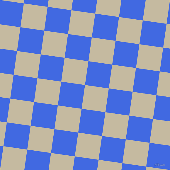 82/172 degree angle diagonal checkered chequered squares checker pattern checkers background, 82 pixel squares size, , Sisal and Royal Blue checkers chequered checkered squares seamless tileable