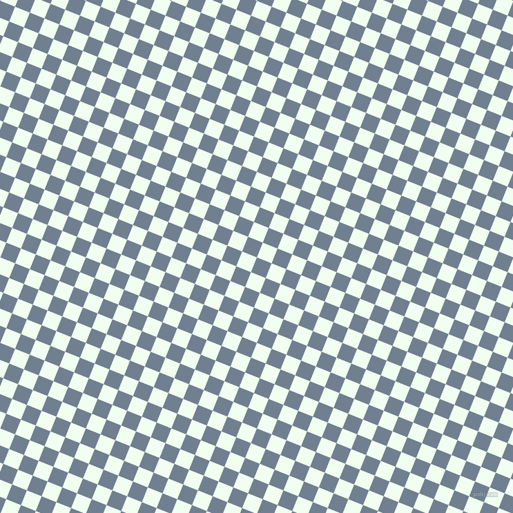 68/158 degree angle diagonal checkered chequered squares checker pattern checkers background, 23 pixel squares size, , Slate Grey and Honeydew checkers chequered checkered squares seamless tileable