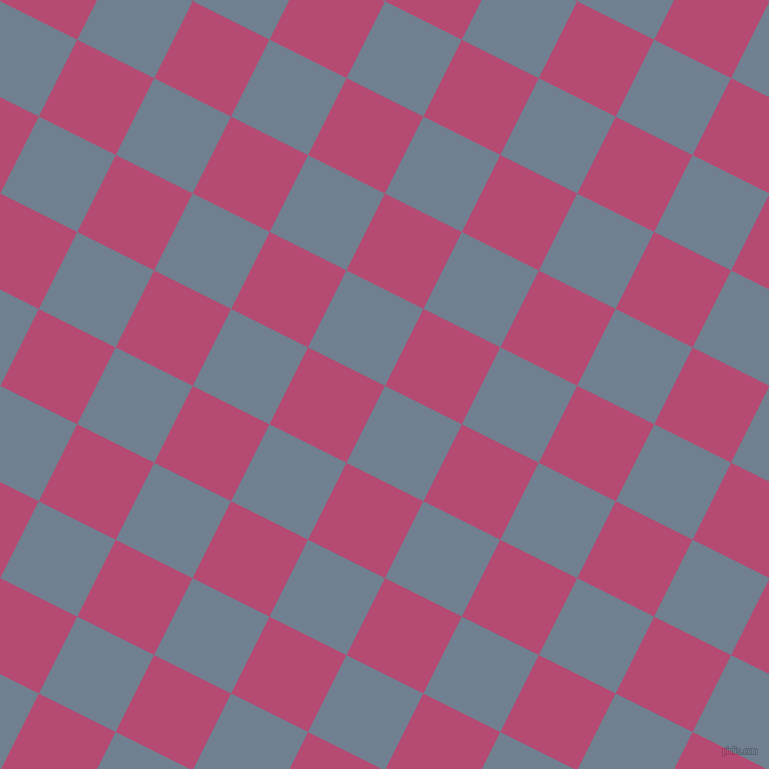 63/153 degree angle diagonal checkered chequered squares checker pattern checkers background, 86 pixel squares size, , Slate Grey and Royal Heath checkers chequered checkered squares seamless tileable